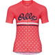 Odlo Fujin Print Stand-Up Collar SS Full Zip Shirt Women dubarry-retro